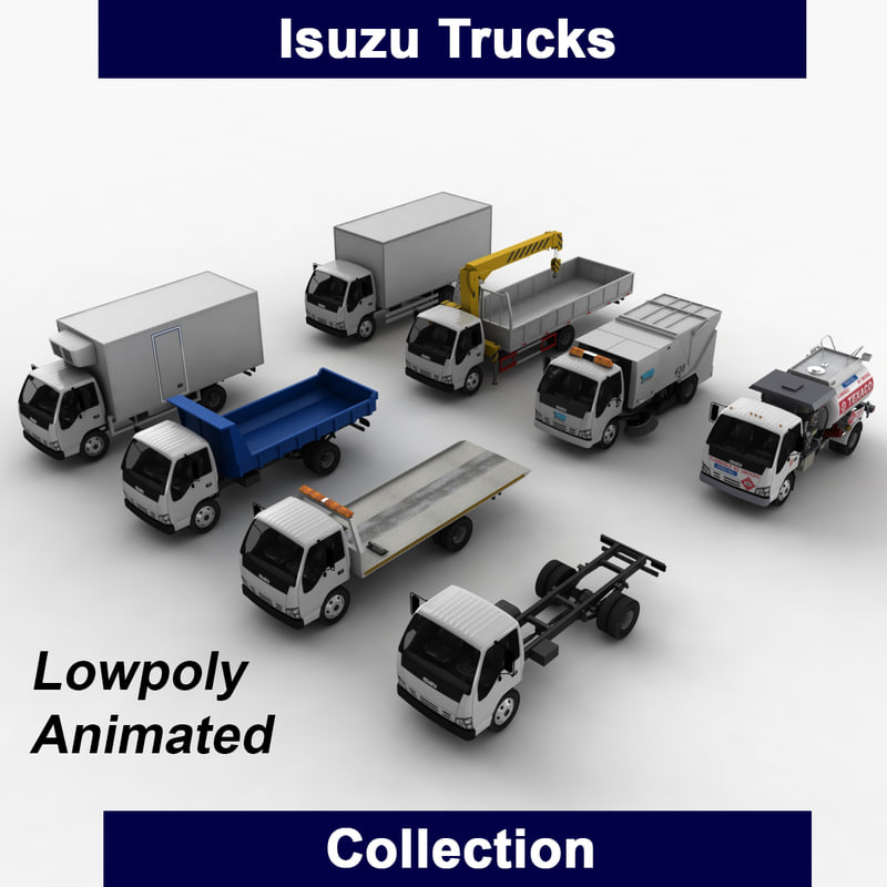3ds isuzu trucks