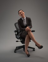 obj business woman female