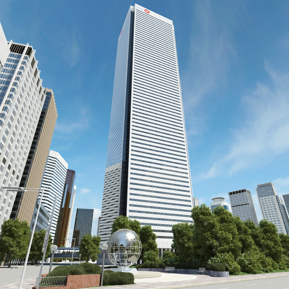 canadian place 3d max