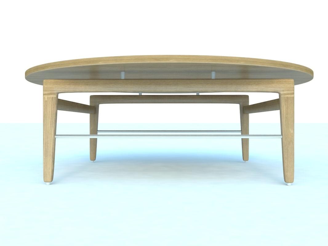 finn coffee table 3d max