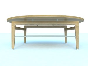 finn coffee table 3d max