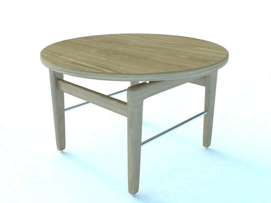 3d model finn table