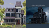 3d max haunted house