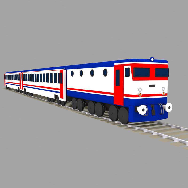 main line electric 3d model