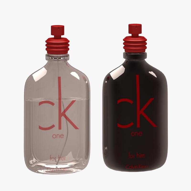 ck parfume set 3d max
