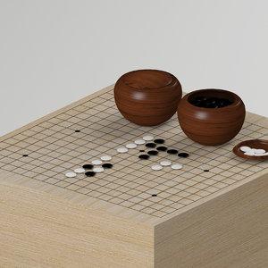 3ds board bowls pieces