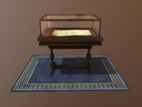 display case 3d fbx