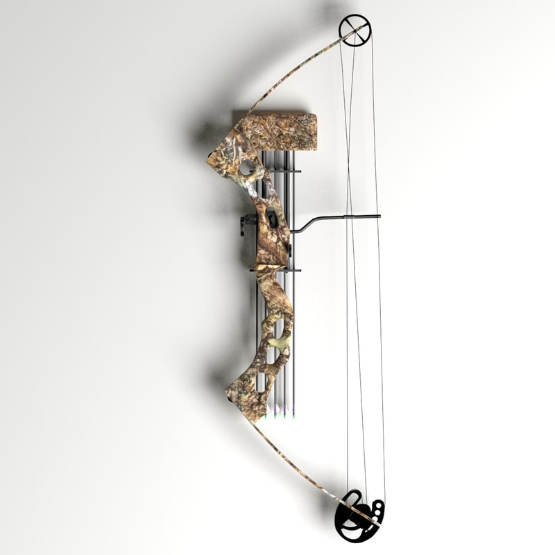 compound bow 3d 3ds