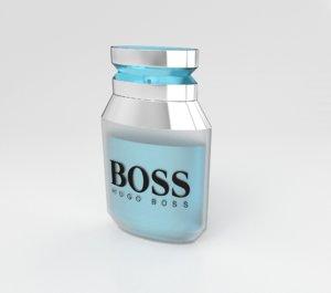 3d max perfume bottle