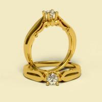 x cnc diamond gold