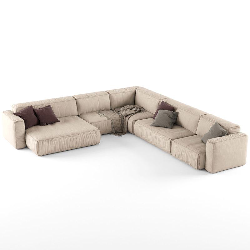 3d sofa soft