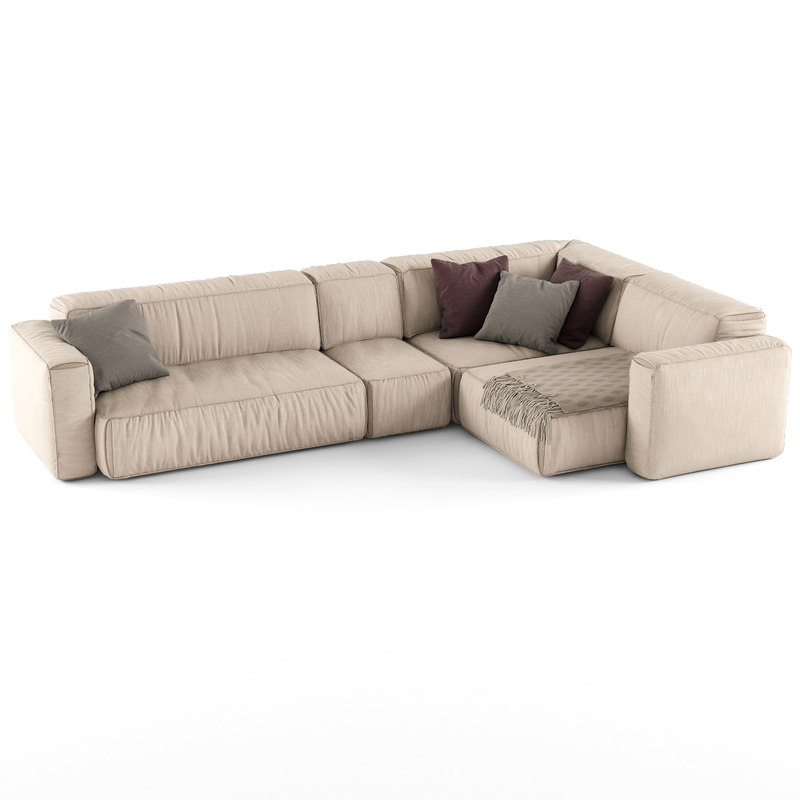 3d sofa soft model