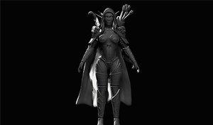 3d zbrush sculpting model