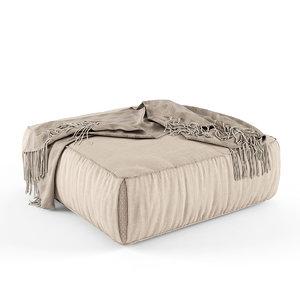 pouf soft 3d model