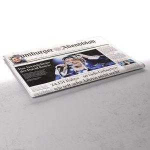 max hamburger abendblatt newspaper folds