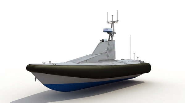 3d homeland security unmanned patrol boat