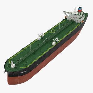 3d supertanker ship