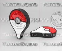 Pokemon Go Logo Keychain