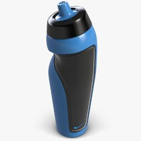 sport water bottle 3d model
