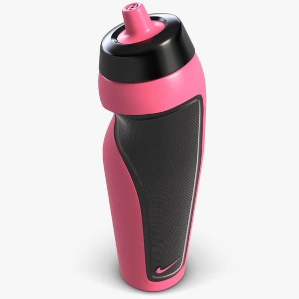 3d sport water bottle model