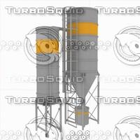 3d silo model