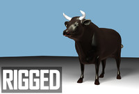 bull 3d max