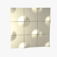 wall panel 3d model