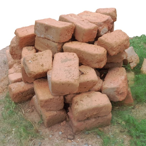 bricks 3d model