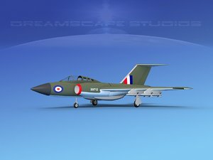 gloster javelin 3ds