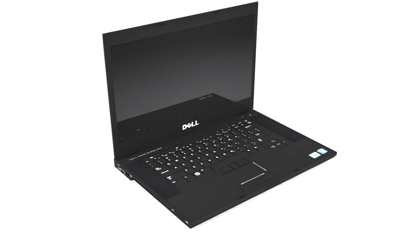 3d model dell m4500 laptop
