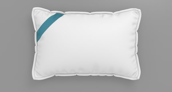 pillow realistic 3ds