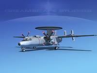 Grumman E-2C Hawkeye V18