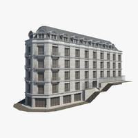 European residential building