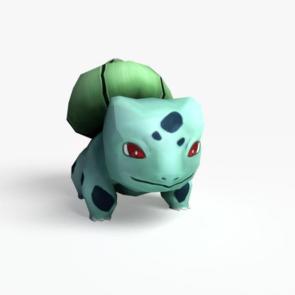 bulbasaur games realtime 3d model