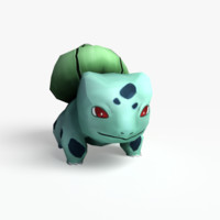 bulbasaur games realtime 3d model