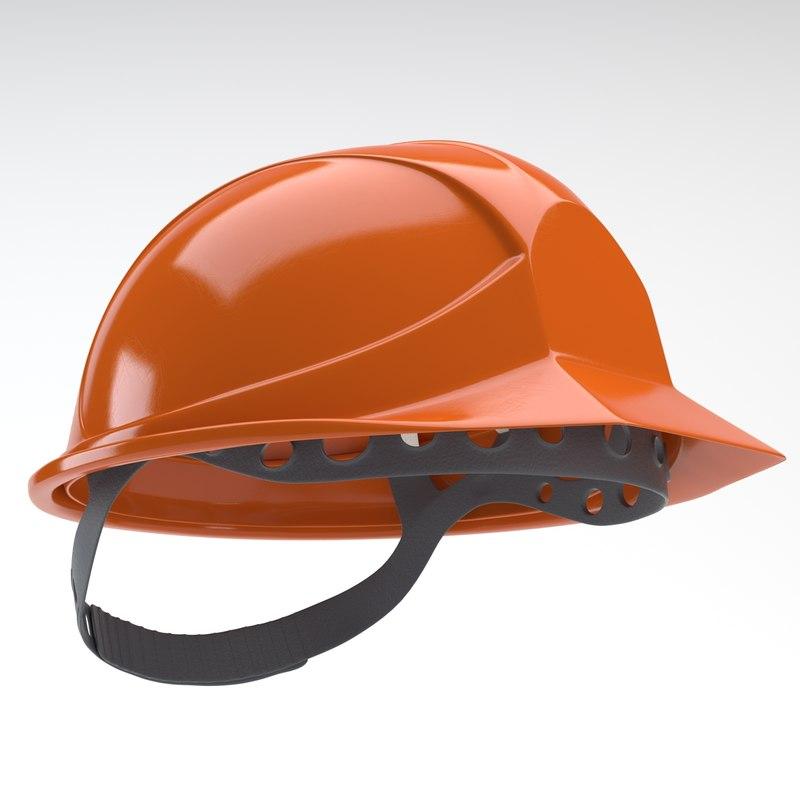 working helmet 3d model