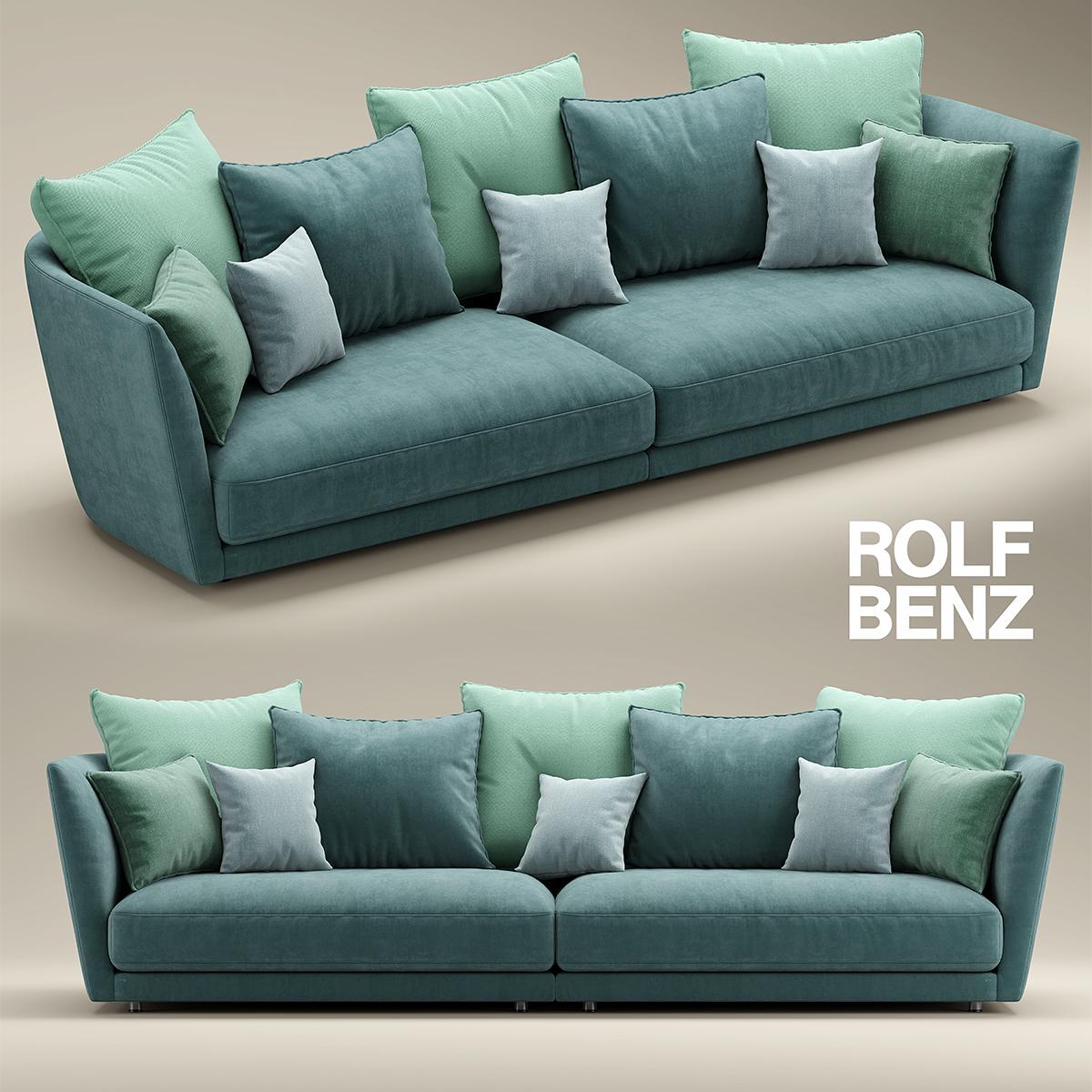 Rolf Benz Draaifauteuil.Rolf Benz Tondo 3d Model