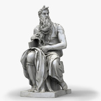 Moses by Michelangelo Buonarotti