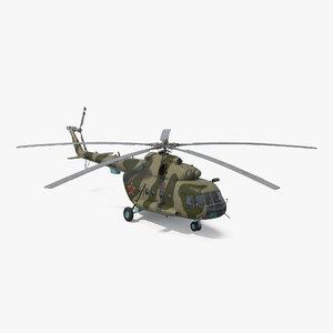 3d mi-8 hip russian millitary