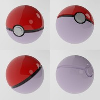 poke pokeball ball 3d 3ds