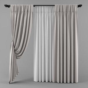 3d curtains blinds