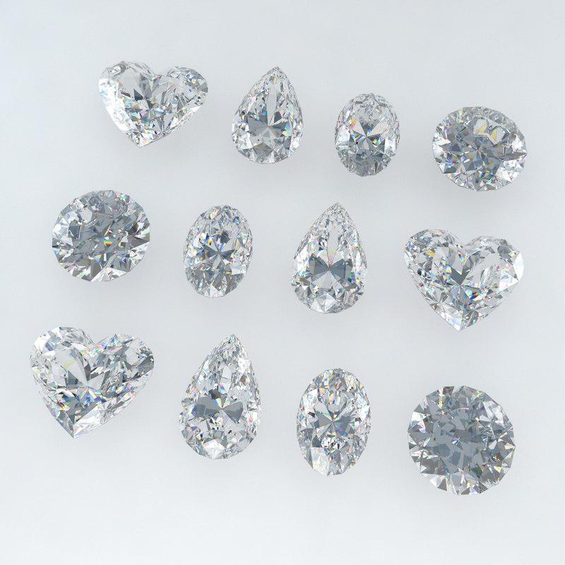 diamonds realistic cut max