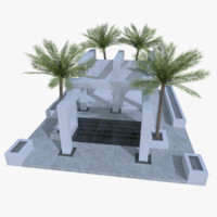 3d original design modern pool