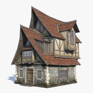 max medieval fantasy house 1