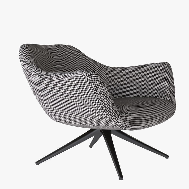 3d poliform mad chair model