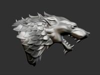 max thrones house stark heraldry