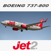 boeing jet2 3d model