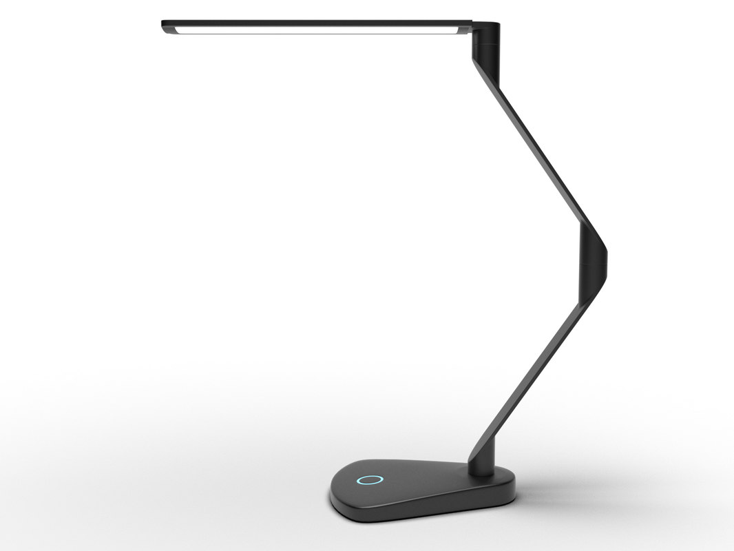 z desk lamp 3d 3ds