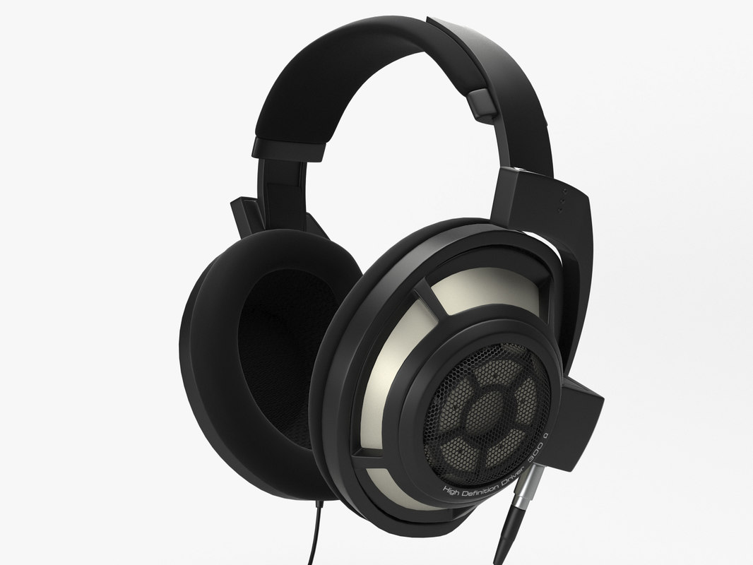 3d model sennheiser hd 800