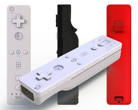 3d model authentic nintendo wii remote